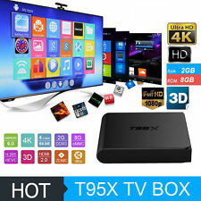 Super Mini T95X Android 6.0 TV Box 2G 8G Amlogic S905X Quad Core 4K 3D Player US