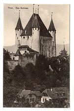Das Schloss - Thun Photo Postcard c1910