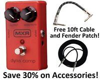 New MXR M102 Dyna Comp Compressor Guitar Effects Pedal!