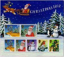 GB 2012 Christmas mini sheet MNH SG MS3422