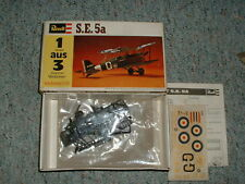 Revell 1/72  S.E. 5a - old RARE German issue kit