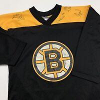 Vintage Sergei Samsonov Boston Bruins Hockey Jersey Youth S M NHL Hockey Black