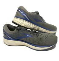 Brooks Ghost 11 Running Shoes Gray Blue Athletic Walking Sneakers Mens Size 11