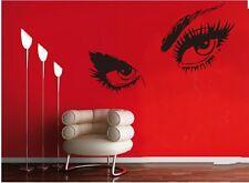 "AUDREY HEPBURN'S BEAUTIFUL EYES Wall Decal Sticker Quote DIY Vinyl Home 60"""