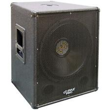 PylePro PASW18 1000 Watt 18 in. Stage PA Subwoofer Cabinet