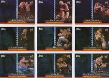 RARE UK ONLY! Complete 14 Card Foil Insert Set: WWE CHAMPIONS Topps 2006 INSIDER