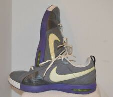 Women's Nike Air Diamond Flx Training Shoes SIZE 11.5 Purple Gray EXCELLENT!