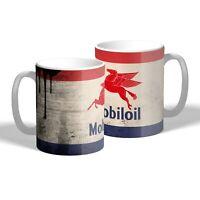 Mobil Pegasus Mug Oil Can Effect Vintage Car Motorbike Mechanic Tea Coffee Gift