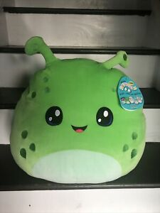 "Finn the Alien Squishmallow 16"" Jumbo ALDI Exclusive Rare HTF Sold Out 🔥 Green"