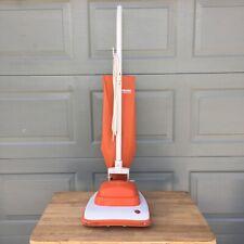 Vintage Hoover Convertible Vacuum Cleaner - Orange Model U4095 - Midcentury USA