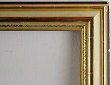 Holzrahmen gold Innenmaß ca. 61x101 cm