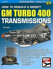 How To Rebuild Or Modify Chevy Turbo 400 Th400 Transmission Manual Book New