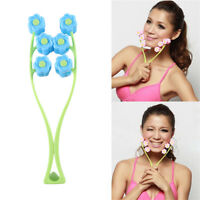 Facial Massager Roller Flower Anti Wrinkle Face-Lift Slimming Relax Beauty Tools