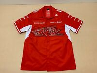 Holden Racing Team Polo Shirt Mens ~ Size Large ~ New w/ Tags Front Button Style