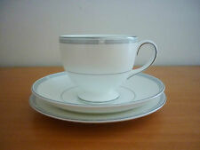 WEDGWOOD NOTTING HILL BONE CHINA TRIO SET - LEIGH TEACUP SAUCER &SIDE PLATE- NEW