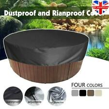 More details for hot tub bathtub cover round anti-uv protector spa anti dust waterproof cover top