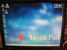 IBM  ThinkPad  600  2645 with   WINDOWS 95 INSTALLED rare!!!