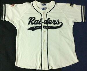 Vintage Oakland Raiders Football-NFL Starter Jersey SizeL