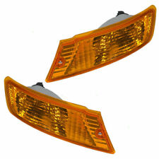 FIT FOR JEEP LIBERTY 2005 - 2007 SIGNAL LIGHTS (W/O SOCKETS) RIGHT & LEFT PAIR