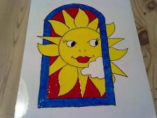 Window Color Bild Sonne