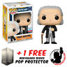 FUNKO POP DOCTOR WHO FIRST DOCTOR NYCC 2017 EXCLUSIVE + FREE POP PROTECTOR