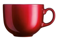 Flashy Colors 0,5l JUMBOBECHER rot Kaffeebecher Teebecher 500ml Luminarc Tasse