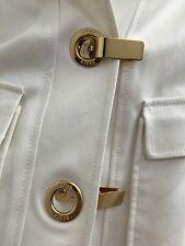 YS Leather Brown jacket lined crop 3/4 long sleeves