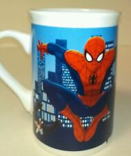 Marvel Spiderman Webslinger coffee/tea mug white/red/black/blue 12 oz bleed