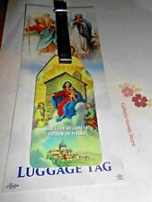 Our Lady of Loreto - Patron of Flying - Luggage Tag