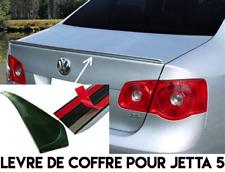 SPOILER AILERON BECQUET LAME LEVRE COFFRE pour VW JETTA 5 2005-2010 TDI FSI TFSI