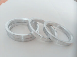 A set of 4pcs Aluminum HUB CENTRIC HUBCENTRIC RING RINGS ID 66.1mm to OD 70.4mm