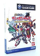 SD GUNDAM Gashapon Wars Nintendo Gamecube GC Reg Japan