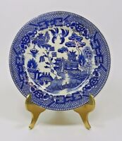 Vintage Blue Willow Salad Plate - Made in Japan