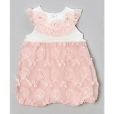 Baby Girls Romper Dress Party Wedding Outfit Size 00 3-6months BNWT LAST ONE