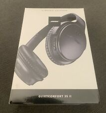 Bose QuietComfort 35 II QC35 Limited Edition Triple Midnight Factory Sealed NEW!