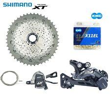 SHIMANO DEORE XT M8000 11 Speed MTB Bike Build Groupset with KMC X11 X11EL
