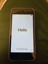 Apple iPhone SE - 32GB - Silver Straight Talk & Tracfone