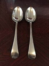 Two Lovely Daniel & Arter Epns Table Spoons