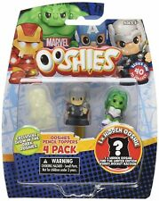 Ooshies Set 1 Marvel Series 1 Action Figure 4 Pack (She-hulk, Thor, Hidden) NEW