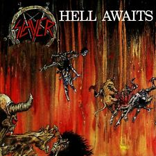 Slayer Hell Awaits Banner Huge 4X4 Ft Tapestry Fabric Poster Flag Print arts