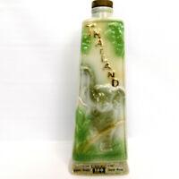 """Thailand James Beam Distilling Co C Miller 1969 Whiskey Liquor Bottle - 12"""" Tall"""