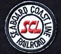 Vintage Railroad Sew On Patch Seaboard Coastline Railroad SCL Railroadiana