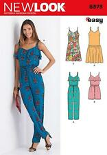 LOOK Sewing Pattern Misses' Jumpsuit or Romper & Dresses Size 8 - 20 6373