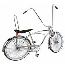 "26"" Lowrider bike Beach Cruiser with  144 spokes wheels Black Frame"