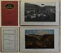 Orig. Werbeprospekt Bad Reinerz 1912 Niederschlesien Ortskunde Landeskunde xy