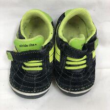 Stride Rite Athletic Shoes SRT SM Jason Black Green 4 M Infant Toddler