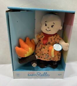 Wee Baby Stella baby doll And Camp Fire 12months+ Magnetic Pacifier