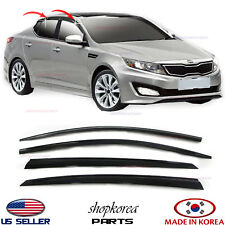2011-2015 for KIA OPTIMA ⭐set 4pcs⭐ DOOR VISOR WINDOW WIND VENT RAIN DEFLECTOR