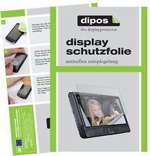 3x Lenco DVP-1045 Schutzfolie matt Displayschutzfolie Folie Display Schutz dipos