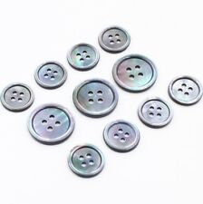 15/20mm Grey 100% Real Mother of Pearl MOP Natural Shell Suit Set Button Tailor